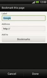 HTC T320e One V - Internet - Internet browsing - Step 6