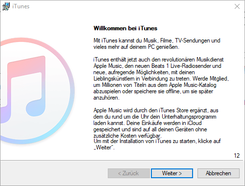 Apple iPhone 5 - Apps - iTunes installieren - 1 / 1