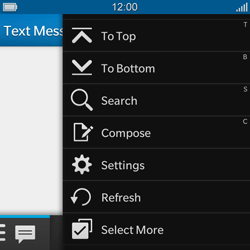 BlackBerry Q10 - MMS - Manual configuration - Step 4