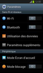 Samsung Galaxy Express - Internet et roaming de données - Désactivation du roaming de données - Étape 4