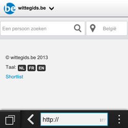BlackBerry Q10 - Internet - internetten - Stap 11