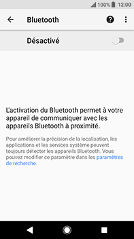 Sony Xperia XA2 Ultra - Bluetooth - connexion Bluetooth - Étape 8