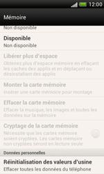 HTC Desire X - Téléphone mobile - Réinitialisation de la configuration d