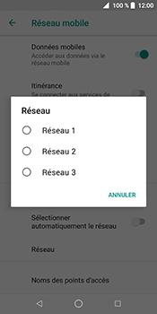 ZTE Blade V9 - Réseau - Sélection manuelle du réseau - Étape 9