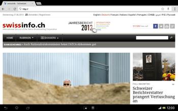 Sony Xperia Tablet Z LTE - Internet und Datenroaming - Verwenden des Internets - Schritt 17