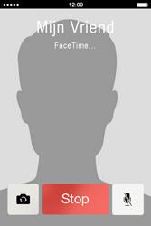 Apple iPhone 4S met iOS 5 (Model A1387) - Applicaties - FaceTime gebruiken - Stap 10