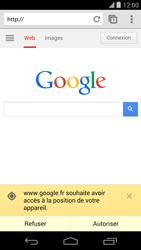 LG D821 Google Nexus 5 - Internet - navigation sur Internet - Étape 5