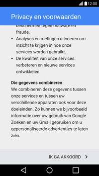LG G4 - apps - account instellen - stap 11