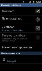Samsung I8160 Galaxy Ace II - Bluetooth - koppelen met ander apparaat - Stap 11