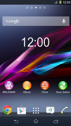 Sony Xperia Z1 - Software - Update - Schritt 1