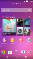 Sony Xperia Z2 - Software - Installazione degli aggiornamenti software - Fase 1