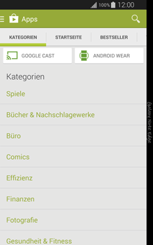 Samsung Galaxy Note Edge - Apps - Installieren von Apps - Schritt 6