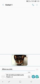 Samsung Galaxy J6 Plus - Contact, Appels, SMS/MMS - Envoyer un MMS - Étape 21