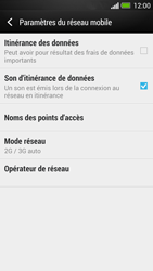 HTC One - Internet et roaming de données - Configuration manuelle - Étape 6