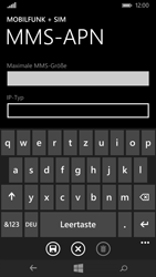 Microsoft Lumia 640 - MMS - Manuelle Konfiguration - 11 / 16