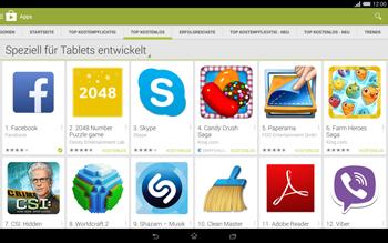 Sony Xperia Tablet Z2 LTE - Apps - Herunterladen - 8 / 20