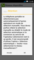 Alcatel OT-5036X Pop C5 - Réseau - Utilisation à l