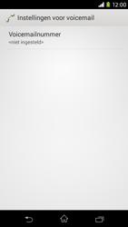 Sony Xperia M2 - voicemail - handmatig instellen - stap 7