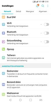 LG Q7 - Internet - Uitzetten - Stap 6