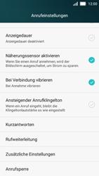 Huawei Y5 - Anrufe - Rufumleitungen setzen und löschen - 5 / 9