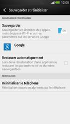 HTC One - Téléphone mobile - Réinitialisation de la configuration d