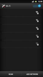 Sony Xperia S - WiFi - WiFi configuration - Step 6