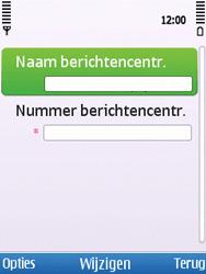 Nokia C5-00 - SMS - Handmatig instellen - Stap 8