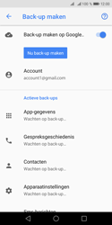Huawei Y5 (2018) - Data - maak een back-up met je account - Stap 9