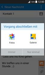 Samsung Galaxy J1 - MMS - Erstellen und senden - 17 / 24
