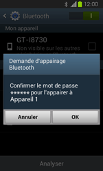 Samsung Galaxy Express - Bluetooth - Jumelage d