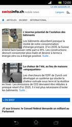 Sony Xperia T - Internet et roaming de données - Navigation sur Internet - Étape 12