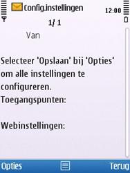 Nokia 6700 slide - internet - automatisch instellen - stap 4