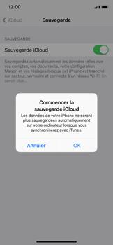 Apple iPhone XS - Données - créer une sauvegarde avec votre compte - Étape 11