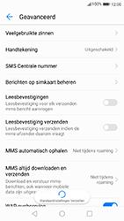Huawei P10 - Android Oreo - SMS - Handmatig instellen - Stap 9