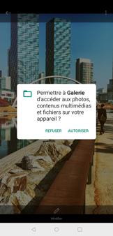 OnePlus 7 - Photos, vidéos, musique - Créer une vidéo - Étape 15