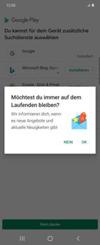 Samsung Galaxy Z flip - Apps - Nach App-Updates suchen - Schritt 4