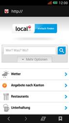 Alcatel One Touch Idol Mini - Internet und Datenroaming - Verwenden des Internets - Schritt 19