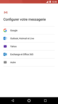 Nokia 6 (2018) - E-mail - Configuration manuelle (outlook) - Étape 7