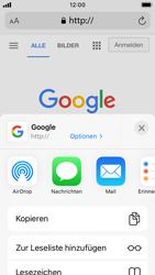 Apple iPhone SE - iOS 14 - Internet und Datenroaming - Verwenden des Internets - Schritt 18