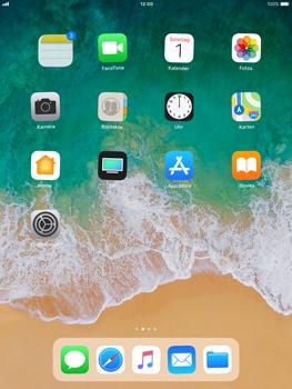 Apple iPad Air - iOS 11 - Mehrere App-Symbole gleichzeitig verschieben - 4 / 5