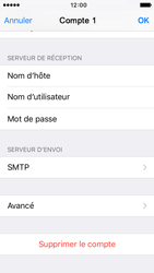 Apple iPhone 5s iOS 9 - E-mail - configuration manuelle - Étape 19