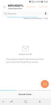 Samsung Galaxy A8 (2018) - E-mail - Envoi d