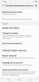 Samsung Galaxy A10 - Appareil - configurer Localiser mon appareil - Étape 5