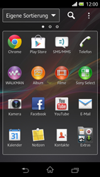 Sony Xperia L - Apps - Herunterladen - 0 / 0