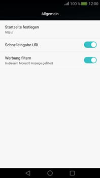 Huawei Mate S - Internet - Manuelle Konfiguration - Schritt 24