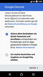 Sony Xperia X Compact - Apps - Einrichten des App Stores - Schritt 17
