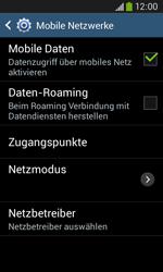 Samsung S7275 Galaxy Ace 3 - Netzwerk - Netzwerkeinstellungen ändern - Schritt 6