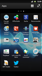 Sony Xperia S - Apps - Twitter einrichten - Schritt 4