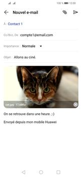 Huawei P30 Lite - E-mail - envoyer un e-mail - Étape 15
