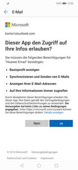 Huawei Mate 20 Lite - E-Mail - Konto einrichten (outlook) - Schritt 7